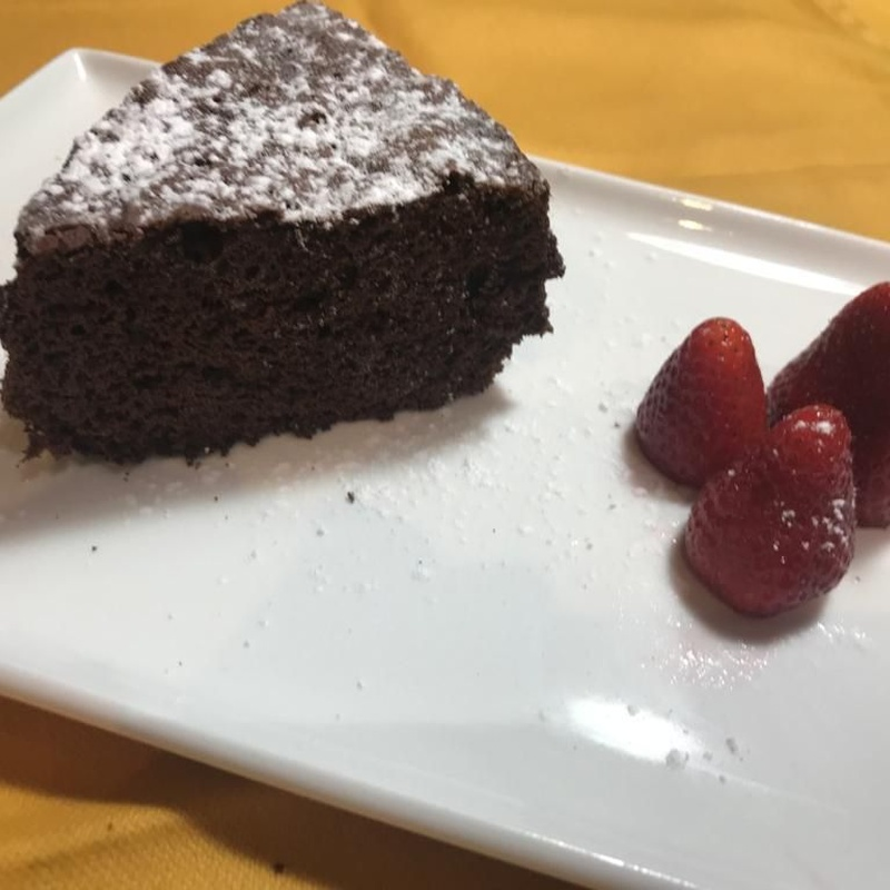 Pastel de chocolate: Productos of Restaurant Cal Marc