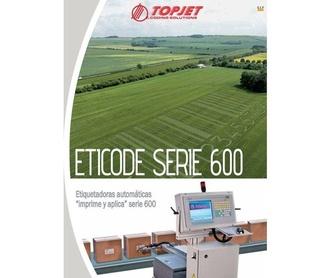 Impresoras Serie KT: Catálogo de Ibertopjet