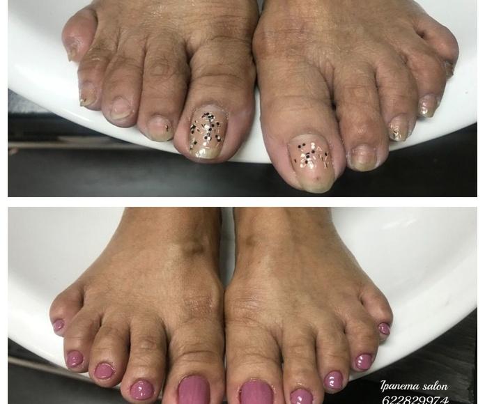Manicura y pedicura: Servicios de Ipanema Salón