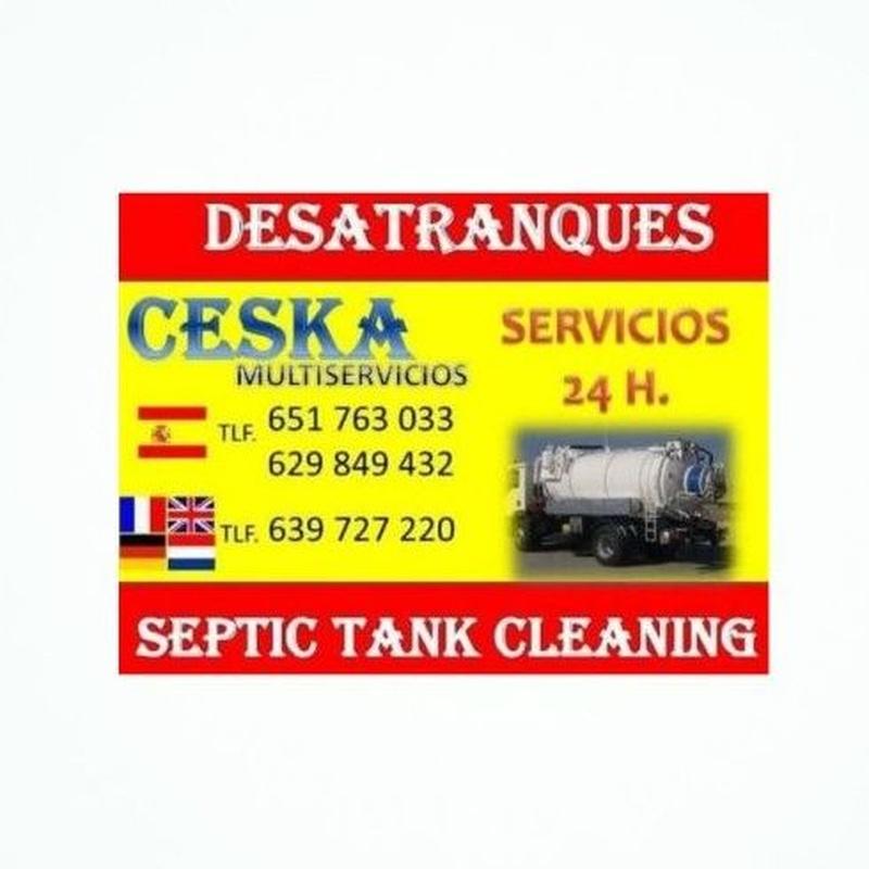 Fugas de agua: Multiservicios de Desatranques Ceska