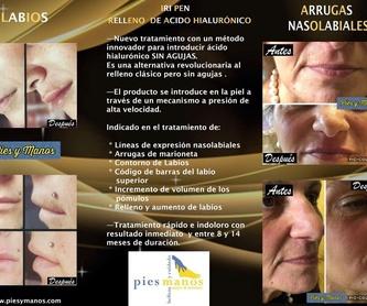 Rejuvenecimiento facial: Tratamientos de Pies y Manos