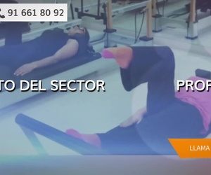 Clase de pilates en suelo en Alcobendas: Mayuben