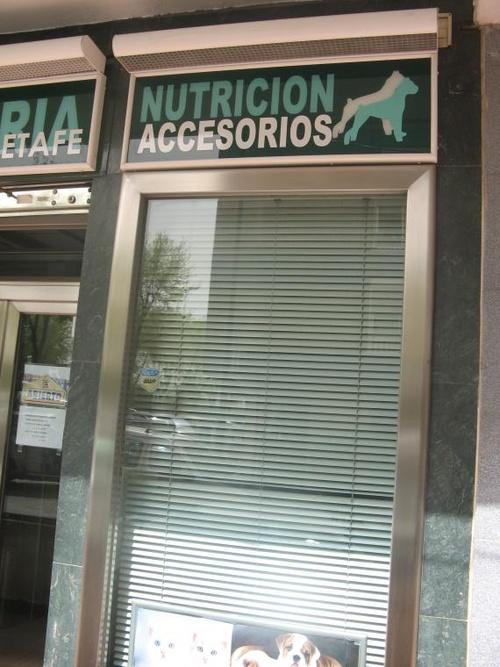 Clínica veterinaria Getafe=Accesorios y Nutrición