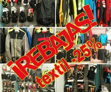 En Bici Aranda ya estamos de rebajas. Equípate con calidad y a buen precio.