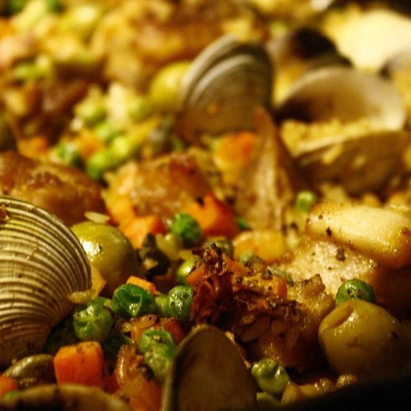 Paellas: Carta de Restaurant Es Cactus