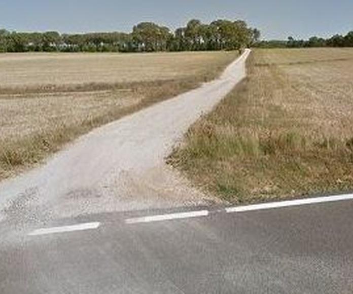 Imagen del camino de acceso