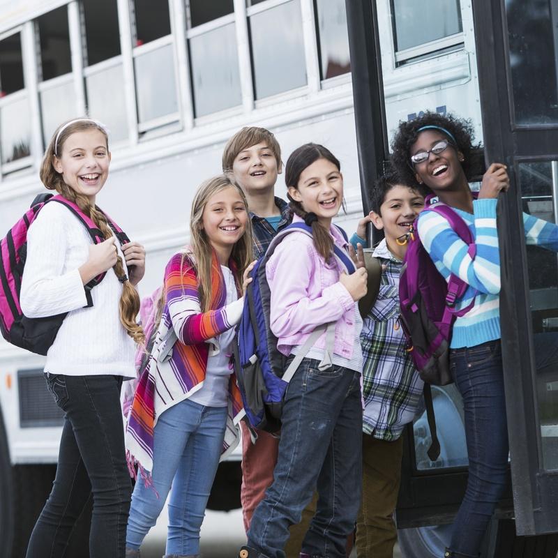 Transporte escolar: Servicios de Autocares y Microbuses Nievabus