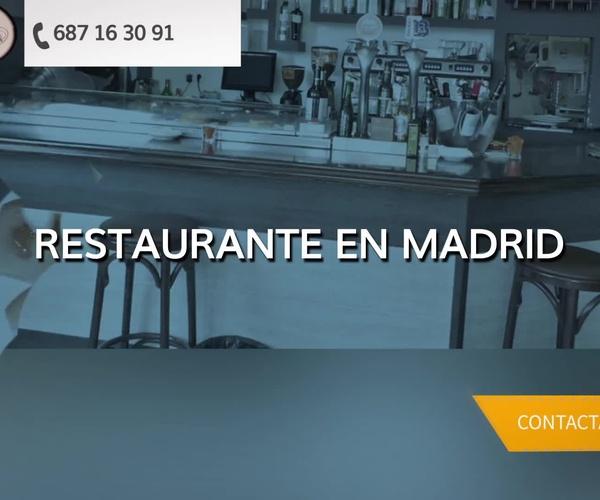 Restaurante en Madrid en Madrid | Restaurante 3B