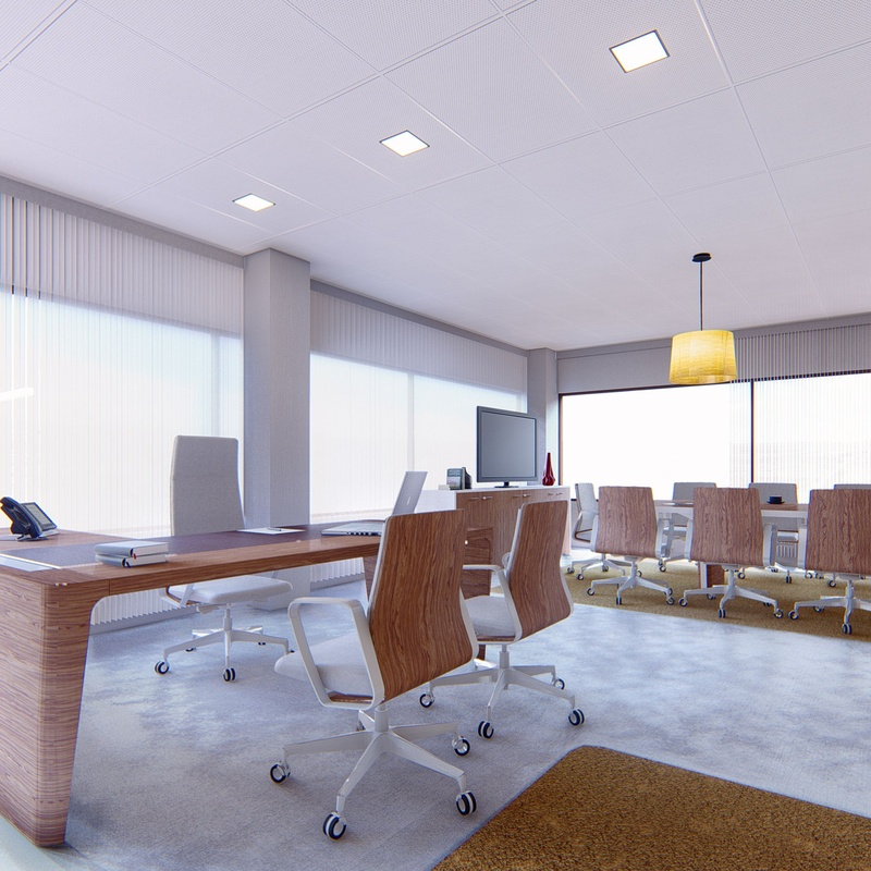 Interiorismo: Servicios  de Arquitectura e Ingeniería Planta Gráfica Estudio