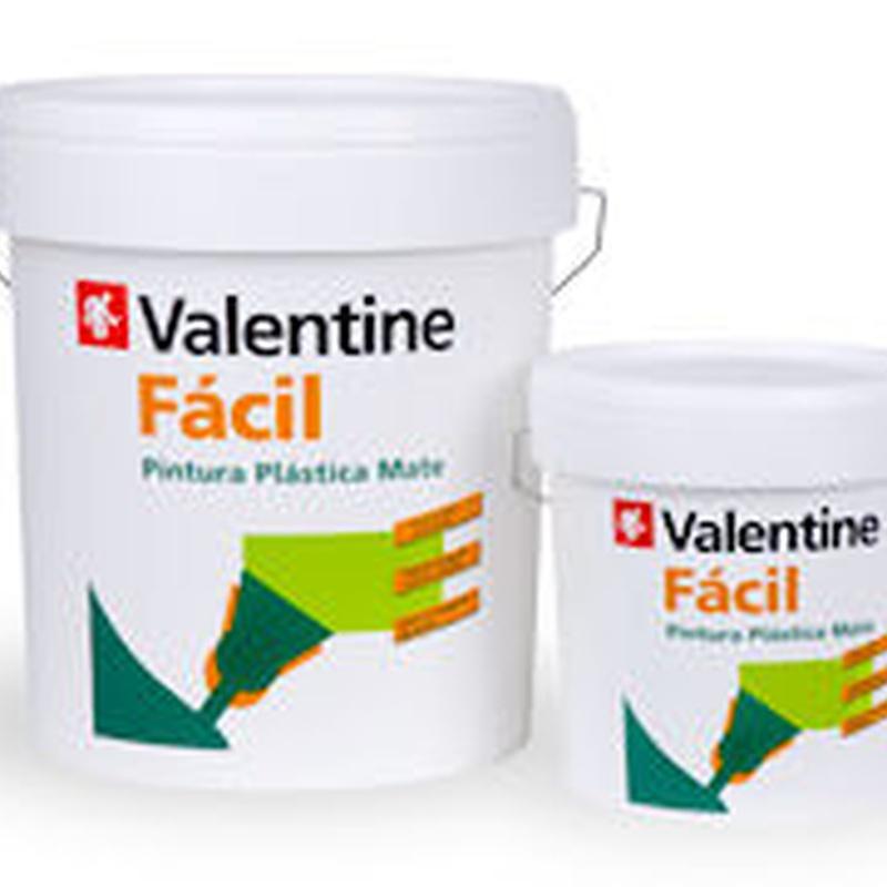 Pintura plástica Valentine Fácil en Barcelona