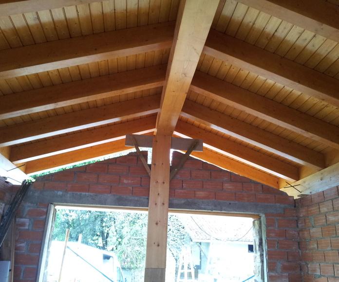 tejado de pino