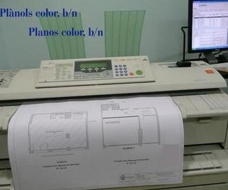 Imprenta: Catálogo de Copisteria Tècnica El Punt