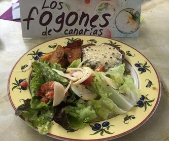 Comida vegana: Carta de Los Fogones de Canarias