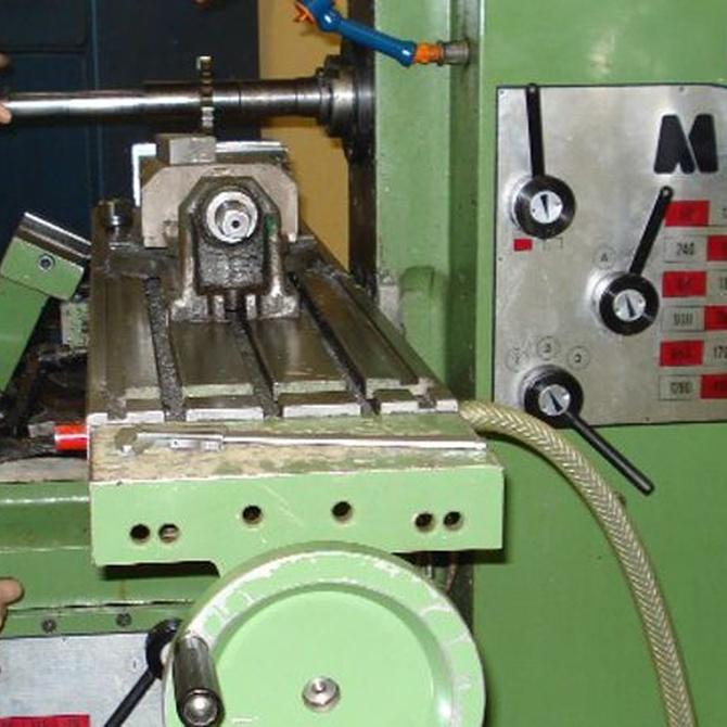 Métodos para mecanizar piezas metálicas