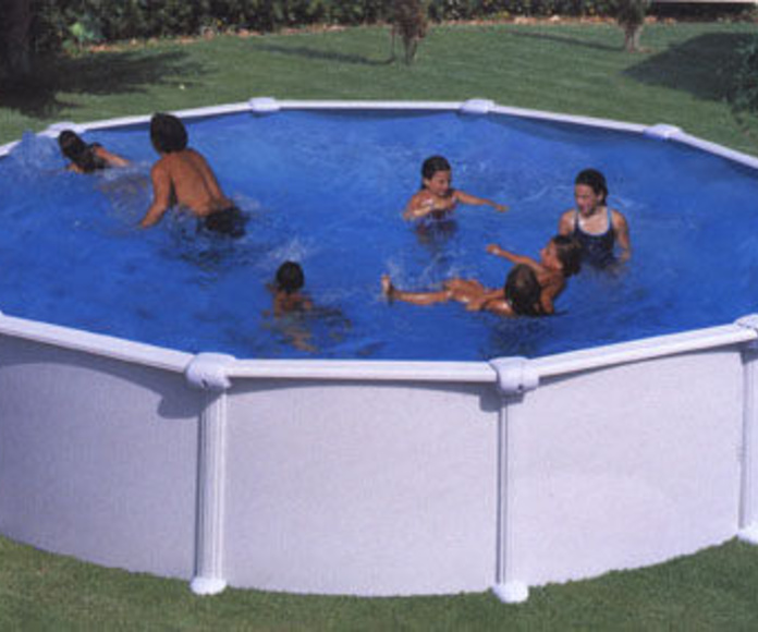 Piscinas desmontables: Catálogo de Piscinas JR - Juan Rodríguez Marchán