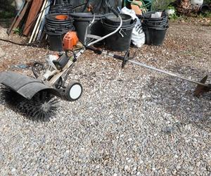 Maquinaría utilizada para la jardinería