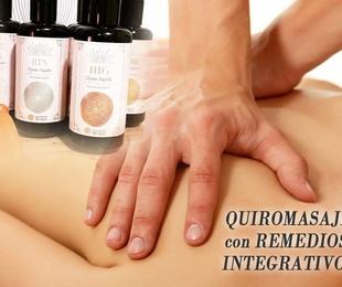 Quiromasaje con Remedios Integrativos
