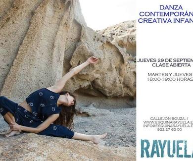¡Clase abierta de Danza Contemporánea Creativa para niños y niñas!