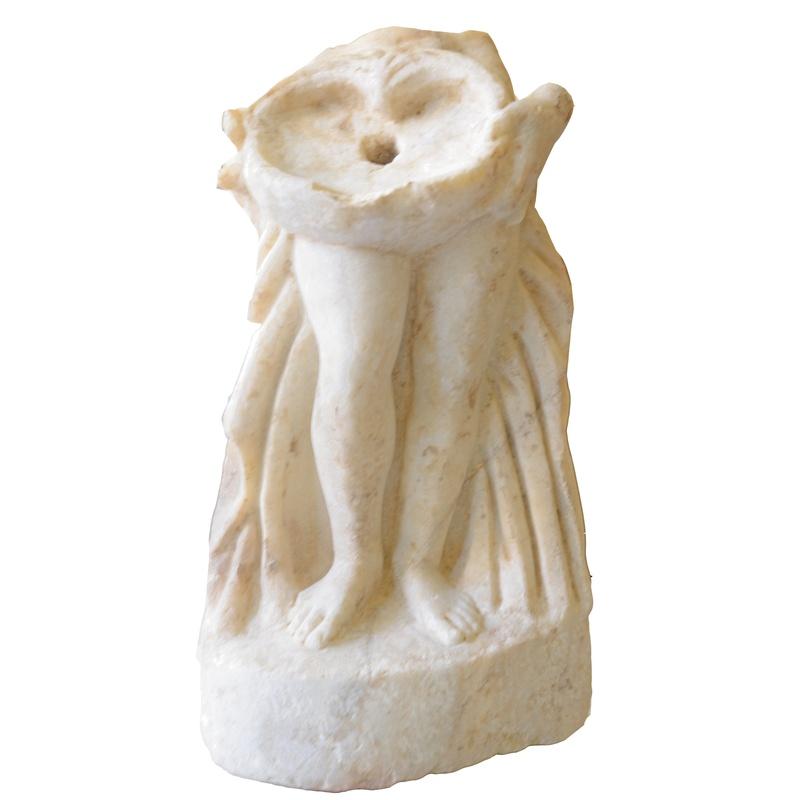 Esculturas femeninas (Diosa Venus y Ninfas): Turismo arqueológico de Villa Romana de Salar