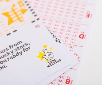 Bonoloto: Servicios de Administración de Lotería 31 Santander
