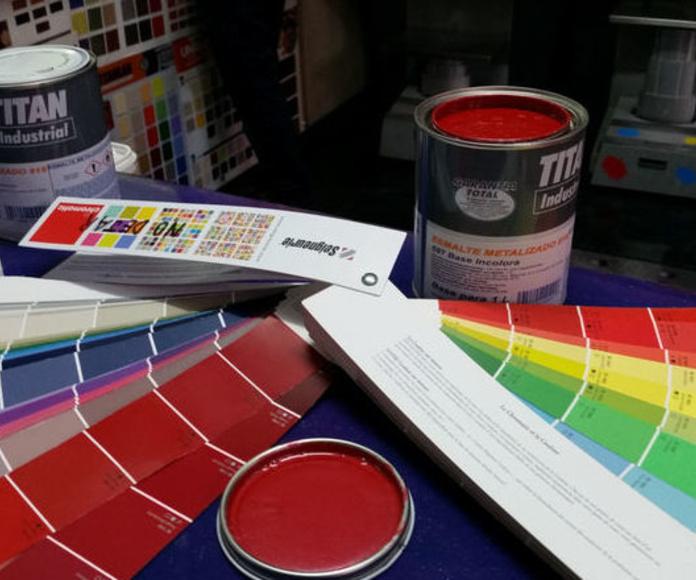 Pintura metalizada Titan colores a medida