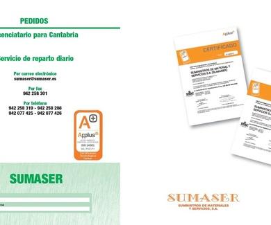 Sumaser, suministros de materiales y servicios