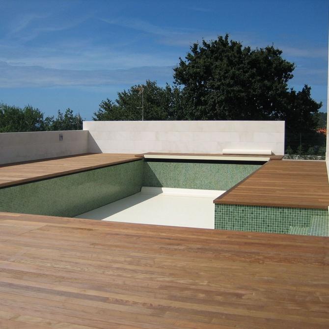 Tarima también en la terraza de tu casa