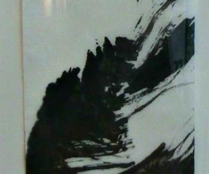 ENERGIA I DIALEG, tinta mixta/paper japó. 35x24cm