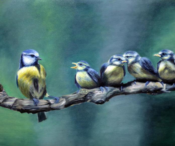 Acrílico sobre lienzo.