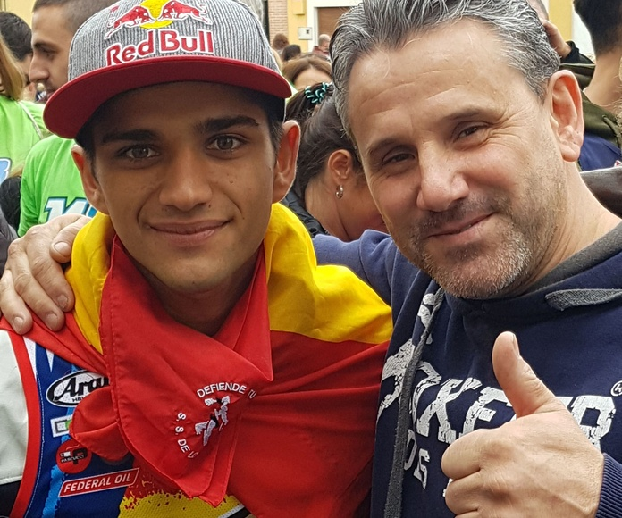 Jorge martin campeon del mundo moto 3