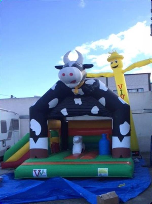 Vaca 5x4 con tobogan