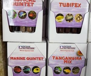 Alimentacion congelada para peces, reptiles y anfibios