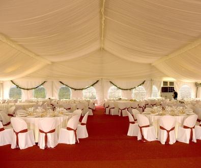 Oferta de alquiler de carpas para bodas y eventos