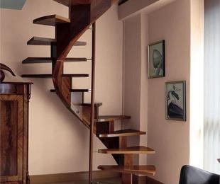 Escaleras en Caracol