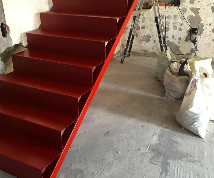 Escalera de chapa
