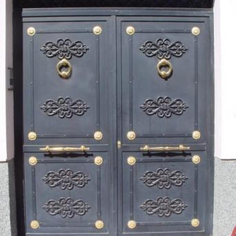 Puertas: Categorias de Hermanos Orozco S. L.