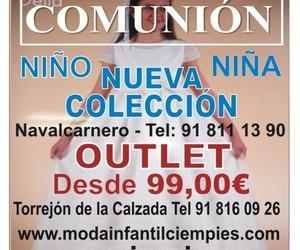 OUTLET COMUNIÓN NIÑO Y NIÑA