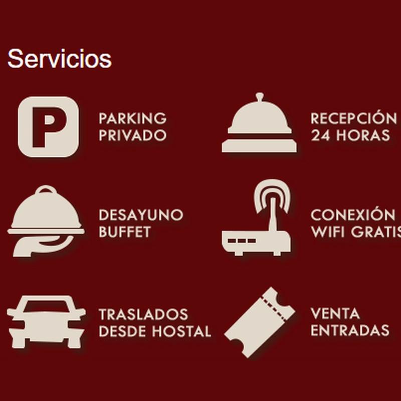 Otros servicios: Servicios de Hostal Avenidas