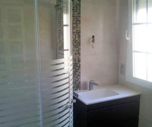 Baño reformado en vivienda