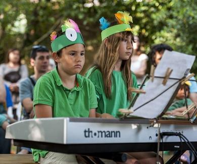 Alumnos de piano de Can Canturri