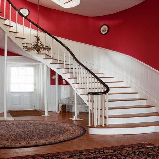 Diferentes tipos de escaleras para una vivienda