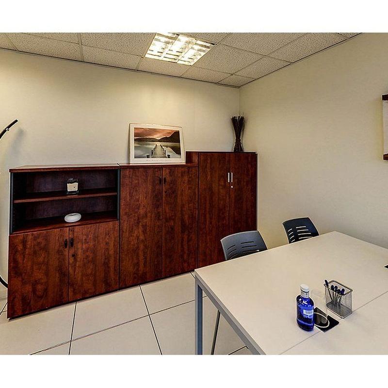 Oficinas equipadas temporales