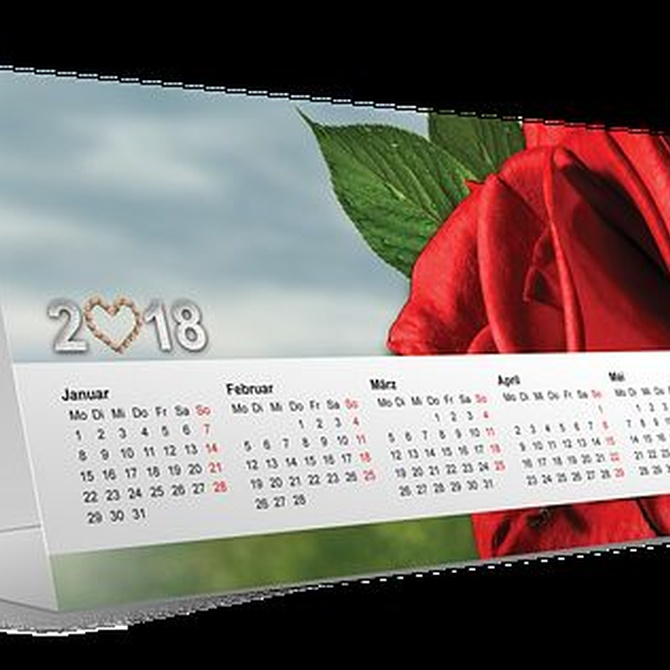 Regala un calendario de fotos