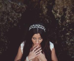 Diadema Julia, plata & perlas