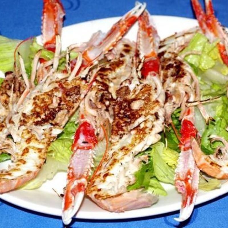 Marisco: especialidades de Bar Bolos