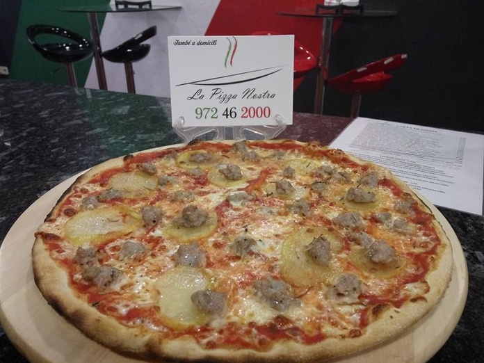 Carta de pizzes: Carta y servicios de La Pizza Nostra