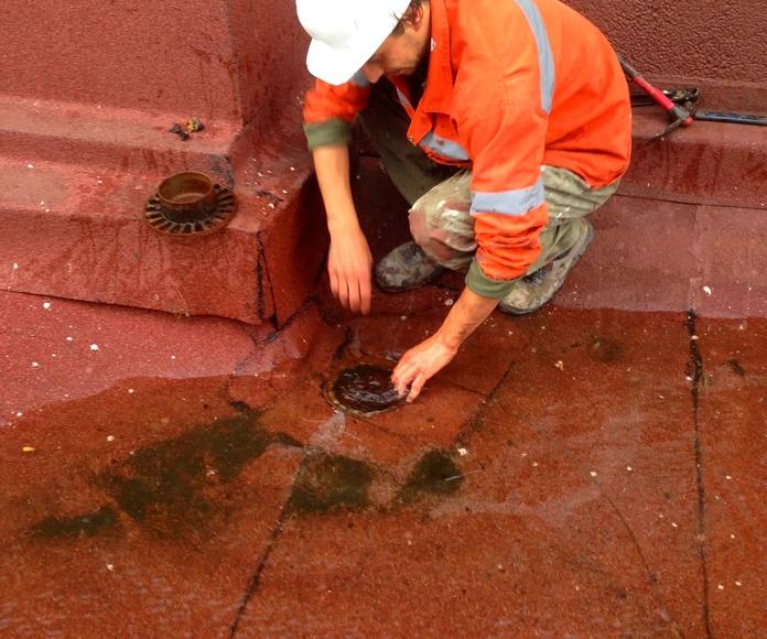 Reparación de terrazas, tejados, cubiertas Santander-Torrelavega