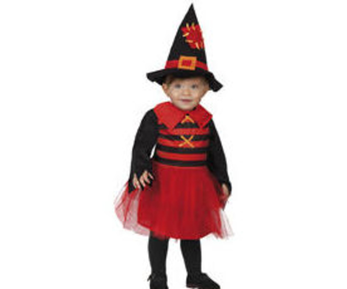 Disfraz brujita roja