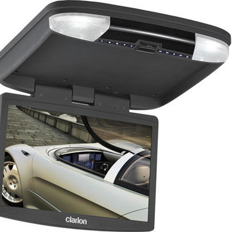 Clarion-Monitor de techo de 8 con unidad de dvd clarion ohm888vd- 26852.