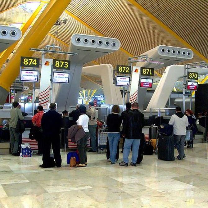 Barajas logra la mayor cifra de pasajeros en los últimos dos años